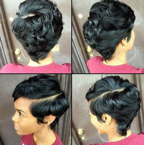 hairstyles on pinterest black women short hairstyles and round fac short hairstyles for black women 2016