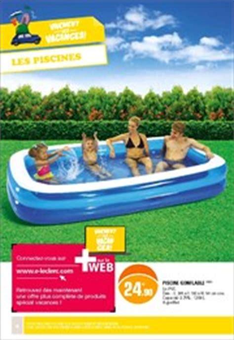 piscine gonflable a leclerc