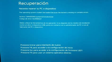 windows vista resetting echo request failed windows 10 ayuda windows 10 pc error 0xc0000221