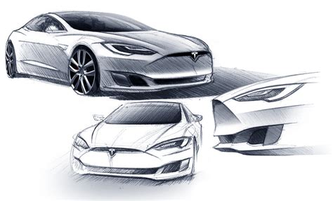 Tesla Motor Design Tesla Finds Its Design Language Cool