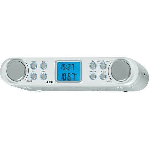 radio de cuisine fm aeg krc 4344 blanc vente radio de