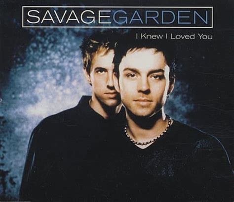 Savage Garden Affirmation Album by Savage Garden I Knew I Loved You Uk Cd Single Cd5 5