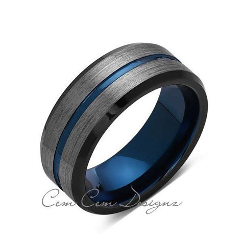 Wedding Bands For Guys by Blue Mens Wedding Rings Wedding Ideas