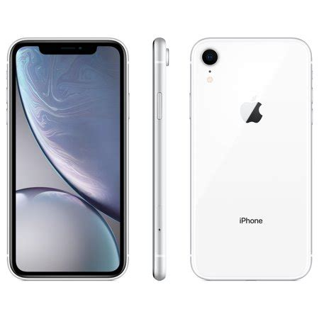 walmart family mobile apple iphone xr w 64gb white walmart