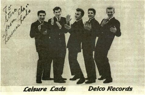 Delco Records White Doo Wop Collector The Leisure Lads Baby I M All Alone