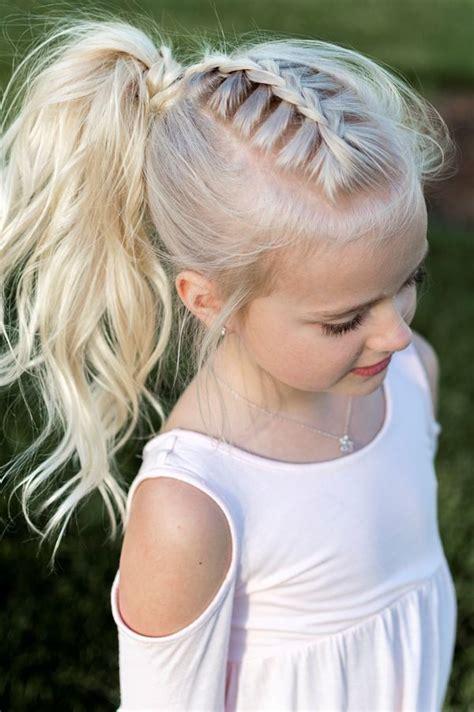 magnifiques coiffures tresses pour petites filles