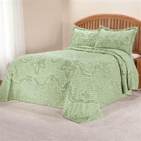 Bedspreads Only The Caroline Chenille Bedding By East Wing Comforts
