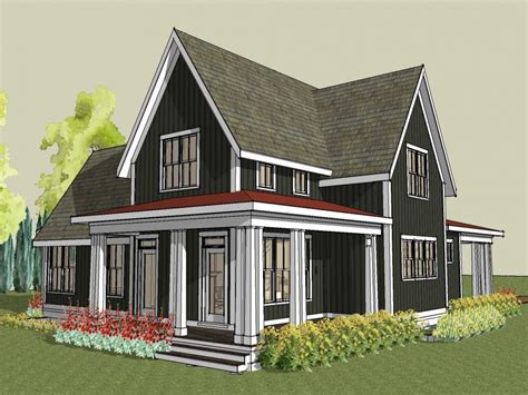 farmhouse building plans large gable roof house plan farmhouse house plans with porches small farm house design