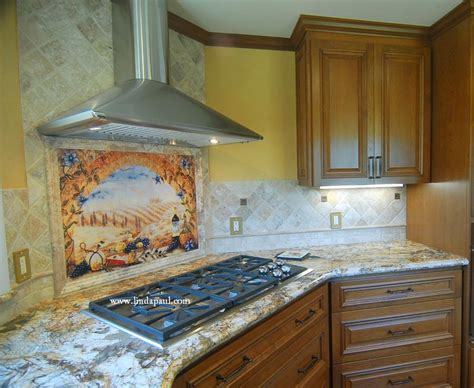 tile ideas for kitchen backsplash italian tile murals tuscany backsplash tiles