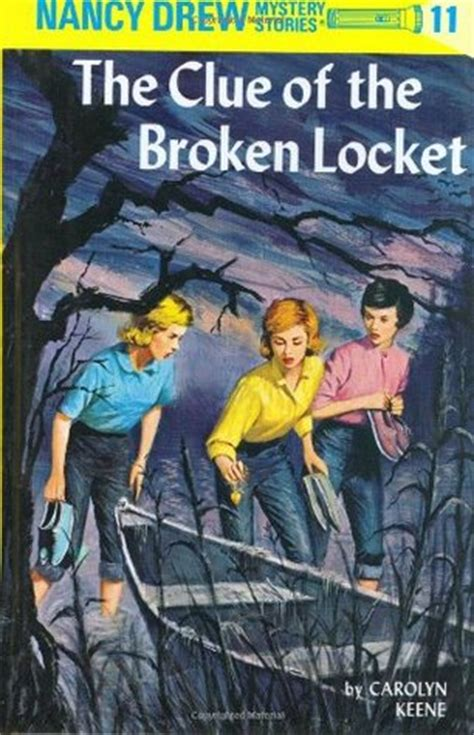 the broken a books the clue of the broken locket nancy drew 11