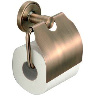 free shipping brushed red bronze bathroom toilet holder