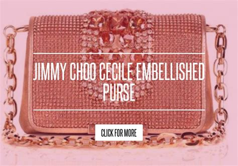 Jimmy Choo Cecile Mesh Embellished Clutch Purses Designer Handbags And Reviews At The Purse Page by Jimmy Choo Cecile Embellished Purse Fashion