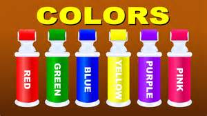 when do children learn colors colors for children to learn with color roller bottle