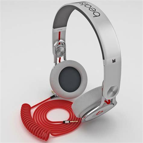 Headphone Beats Mixr Original headphones beats mixr 3d model