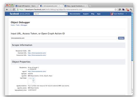membuat facebook open graph facebook open graph tools and more zanematthew