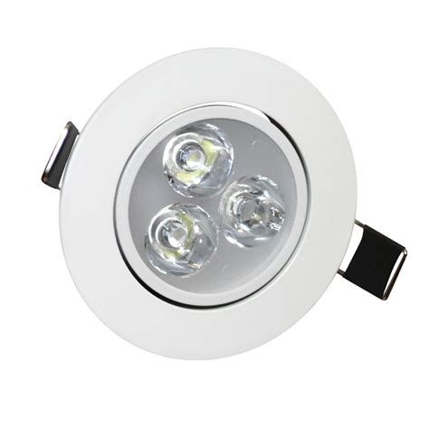 3w Angle Adjustment Recessed Spotlight Led Ceiling Downlight Ceiling Spotlights Led