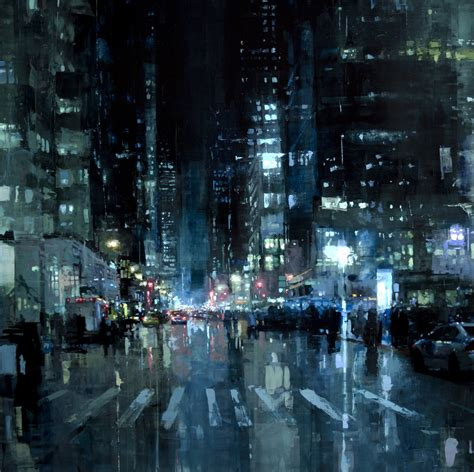 Painting And Cityscapes painting post gritty new cityscapes by mann feedly