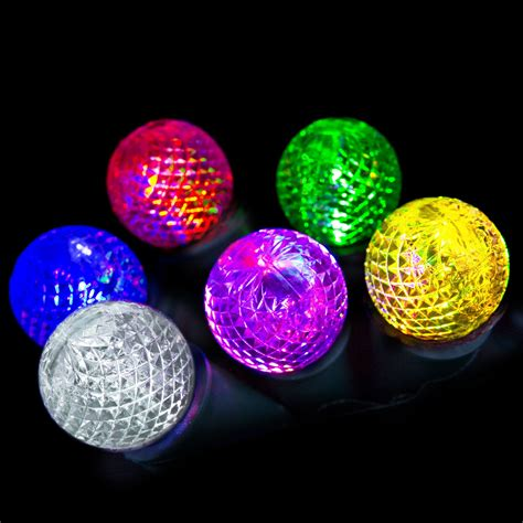 gemmy light show color changing 12 led g12 light set