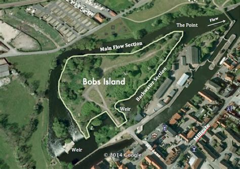 Bobs Island Coarse Fishery on the River Trent at Newark ...