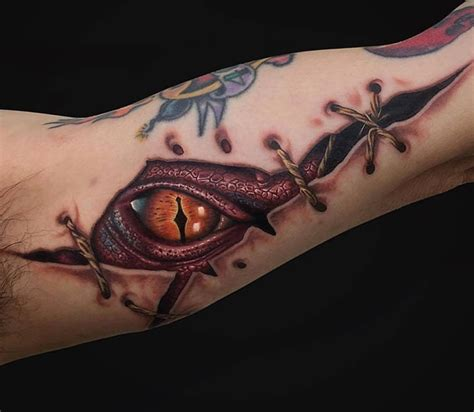 smaug tattoo ripped skin smaug best design ideas