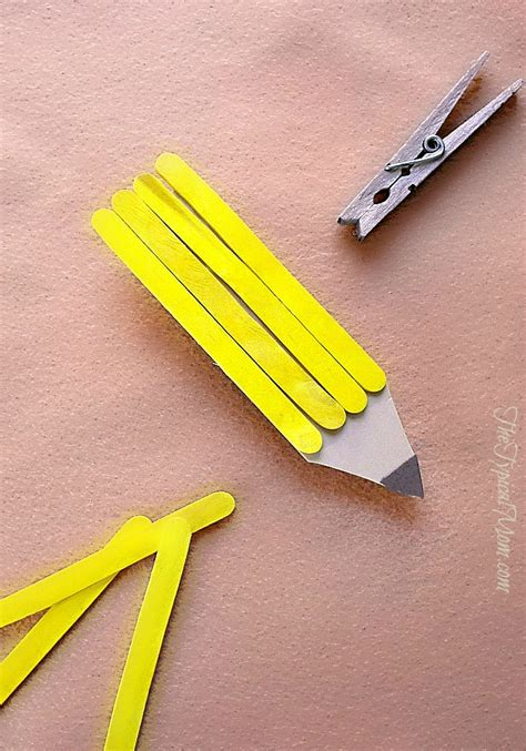 easy popsicle stick crafts for popsicle stick magnet craft 183 the typical