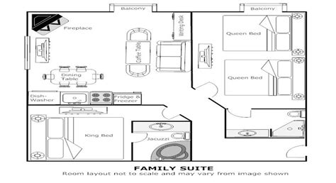 layout suite room hotel premium hotel suites at rundlestone lodge in banff