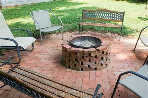 Brick Chiminea by 20 Cool Diy Pit Ideas