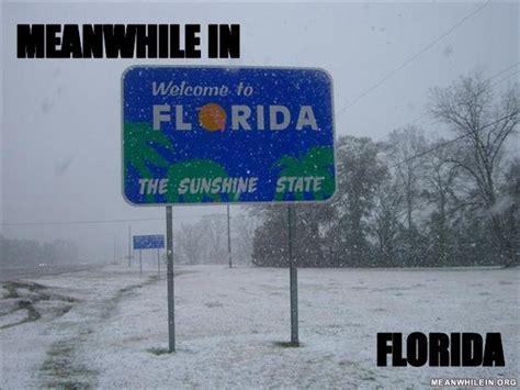 Florida Winter Meme - meme meanwhile in florida memes