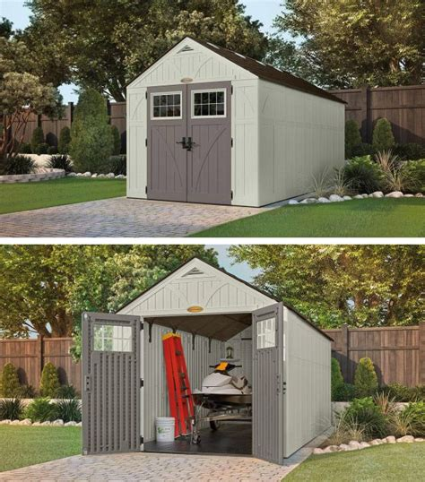backyard storage solutions keep your outdoor space clutter free with a durable shed