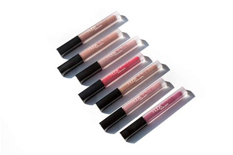Huda Liquid huda liquid lipsticks swatches