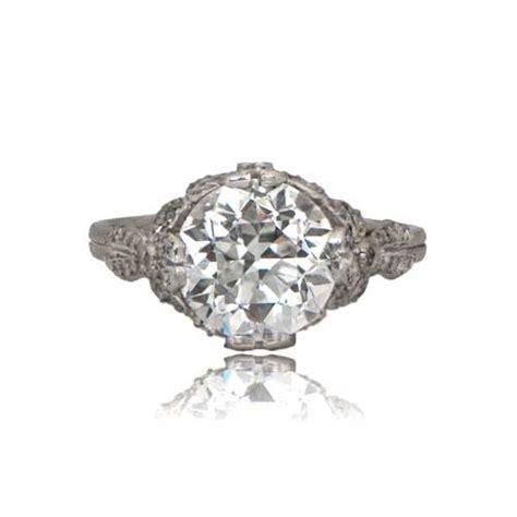 Edwardian Engagement Rings edwardian style engagement ring estate jewelry
