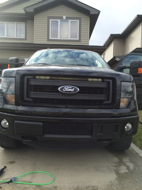 led light bar grill f150 led lightbar mounting options locations in 2014 lariat