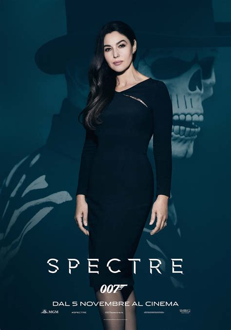 spectre film monica bellucci spectre character poster spectre