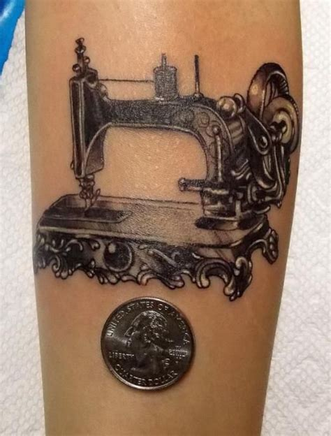 sewing machine tattoo best 25 sewing tattoos ideas on dr woo