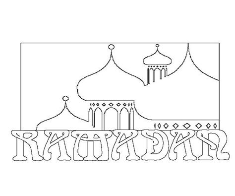 ramadan coloring pages use as templates for various
