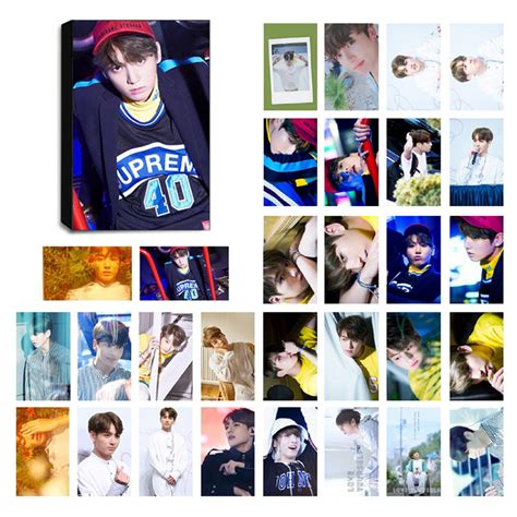 bts unofficial book bts jungkook ver 6 lomo photocard set kpop mall usa