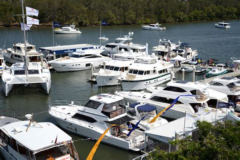 boat supplies gold coast the large luxury boat display impressed boating
