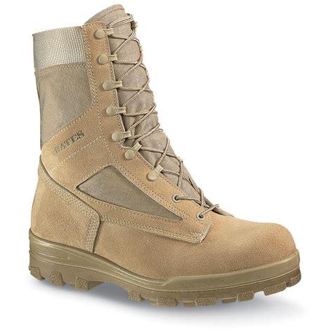 mens desert combat boots s bates 174 durashocks 174 steel toe desert combat boots