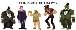 Fnaf humanized by mellow monsters on deviantart