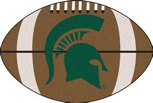 michigan football fan gear fan mats michigan state football mat fan gear
