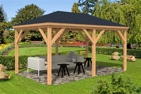 www gazebo samos larch wooden gazebo 2 9x4 9m