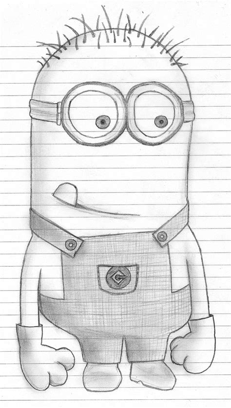 Sketches I Can Draw by Minions Minion Drawing