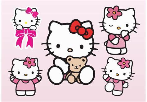 wallpaper hello kitty vector hello kitty vectors download free vector art stock