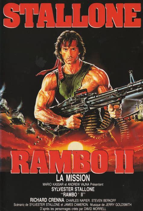 film action rambo complet en francais colecci 211 n de carteles antiguos de cine rambo ii 1985 con