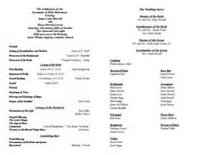 Publisher Program Templates by Wedding Program Templates Publisher The Best Wallpaper
