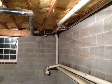 semi finished basement advice exposed insulation