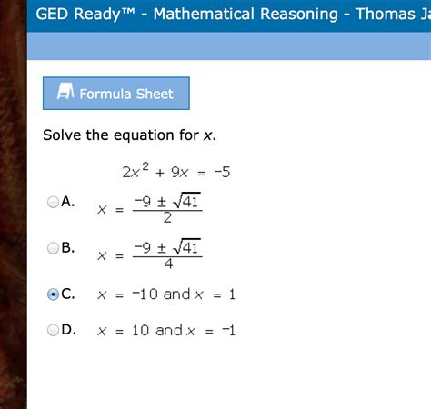 Ged Math Practice Worksheets by Ged Practice Test Printable 2013 Master The Ged Test
