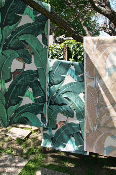 wallpaper martinique banana leaf martinique banana leaf wallpaper new colors available