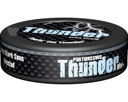 Thunder Nrg Portion Swedish Snus 1 Can thunder frosted mini portion buy swedish snus from