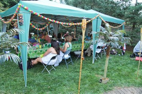luau backyard party ideas backyard luau ideas marceladick com